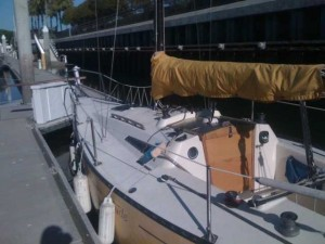 25 Foot Sailboat